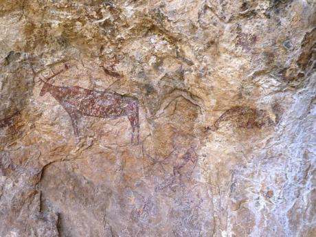 Cave art in the Region of Valencia