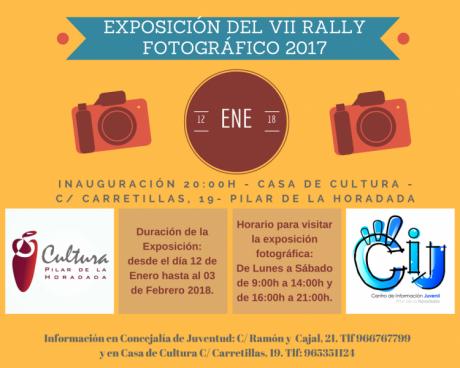 Exposición del VII Rally Fotográfico 2017 en Pilar de la Horadada