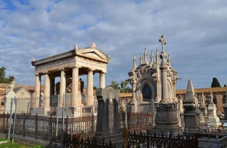 Quatre itinéraires à travers le Cementerio General de Valencia