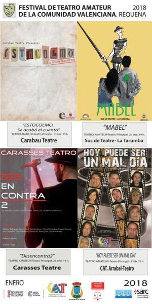 Festival de Teatro Amateur de la Comunidad Valenciana 2018
