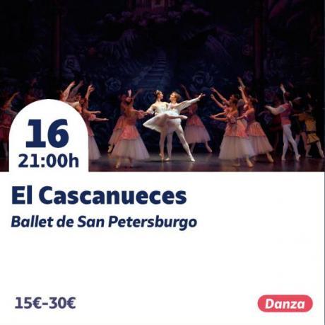 El Cascanueces. Ballet de San Petersburgo