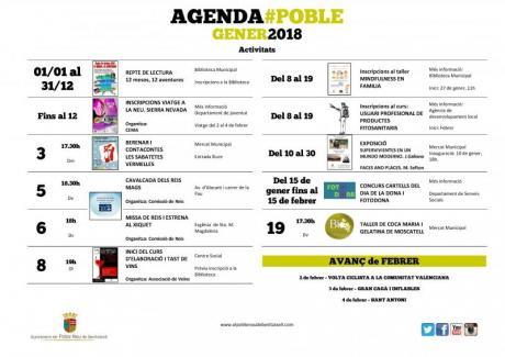 Agenda Enero 2018
