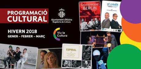 Programación Cultural Invierno 2018 Alzira