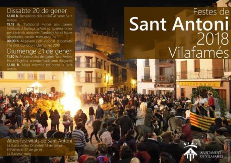 Fiesta de San Antonio 2018 Vilafamés