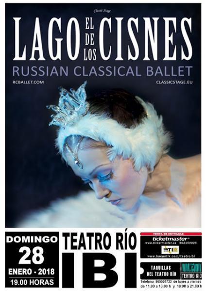 El Lago de los Cisnes - Teatro Río Ibi