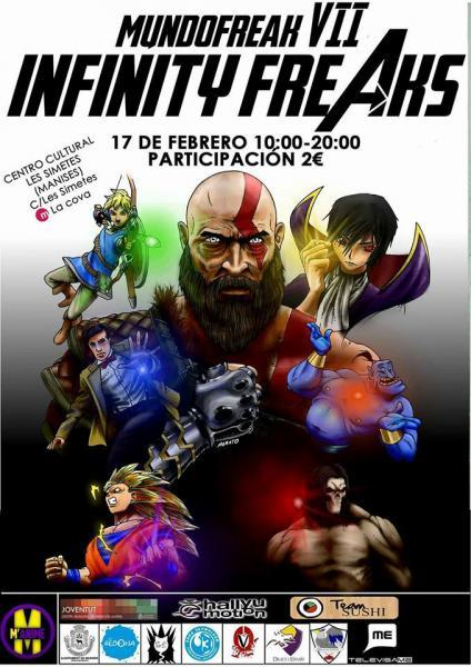 Mundofreak VII Infinity Freaks
