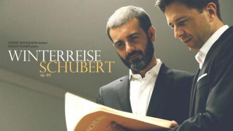 """WINTERREISE"" (VIAJE DE INVIERNO) DE F. SCHUBERT."