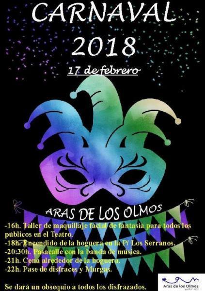 CARNAVAL ARAS DE LOS OLMOS 2018