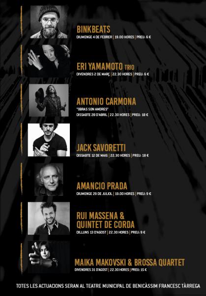 Música: Jazz 2018 Benicàssim