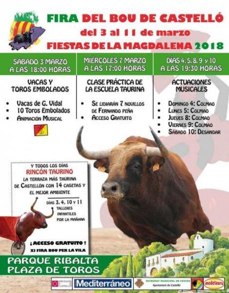 Feria del bou per la Vila en Castellón