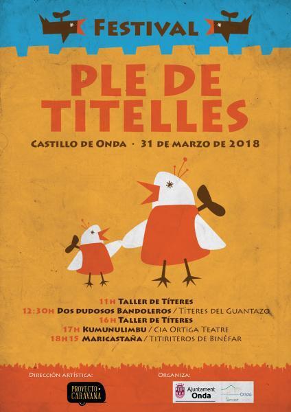 Festival 'Ple de titelles' en Onda