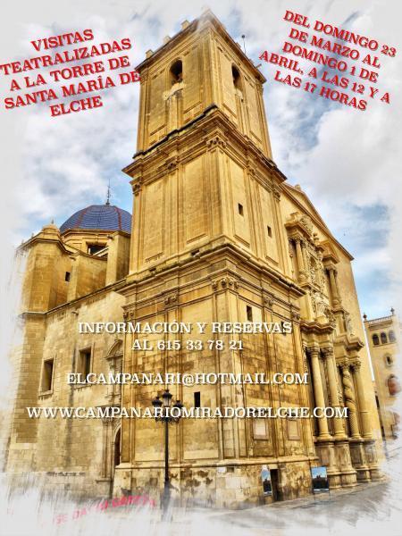 Visitas teatralizadas a la Basílica de Santa María de Elche