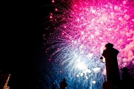 """Ein Date mit dem Feuerwerk. Die """"Nit de l'Alba"""" von Las Fallas"""