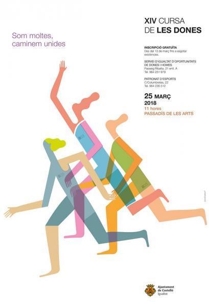 Cursa de les Dones en Castellón