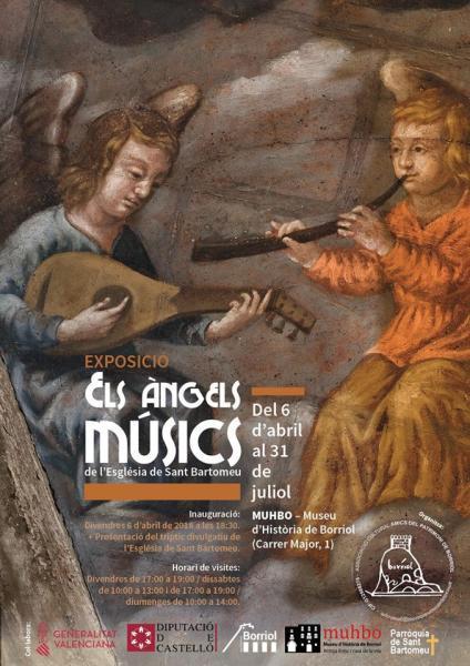 Exposició: Els àngels músics de l'església de Sant Bartomeu