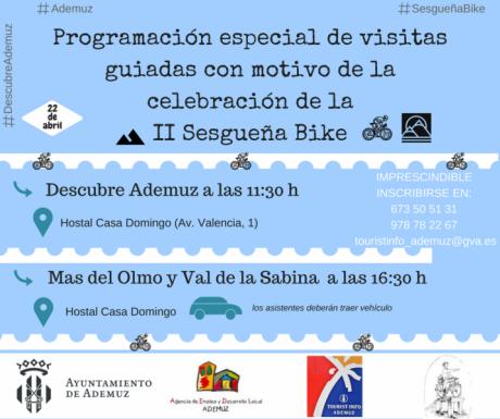 Visita guiada especial con motivo de la II Sesgueña Bike