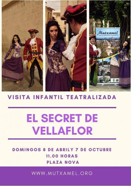 "Visita infantil teatralizada ""El secret de Vellaflor"""