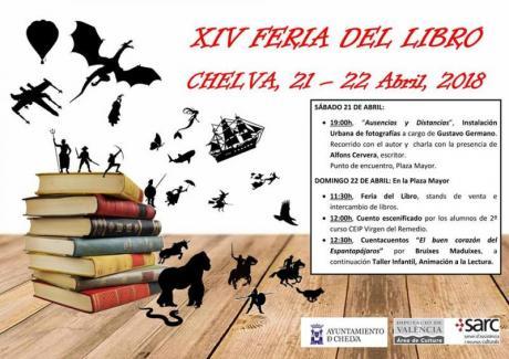 XIV FERIA DEL LIBRO - Chelva 2018