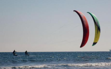 Kite en estado puro en las aguas del Mediterráneo En Vivo
