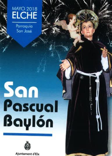 Programa de fiestas de San Pascual Baylón.