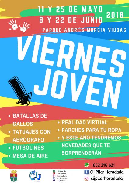 Fiesta nocturna de ocio alternativo pilareño en Pilar de la Horadada 2018
