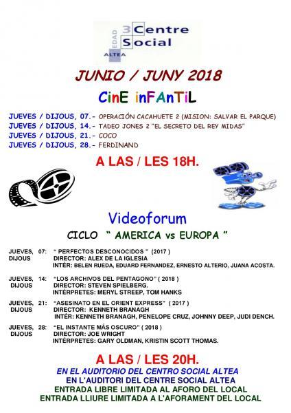 VIDEOFORUM EN ALTEA