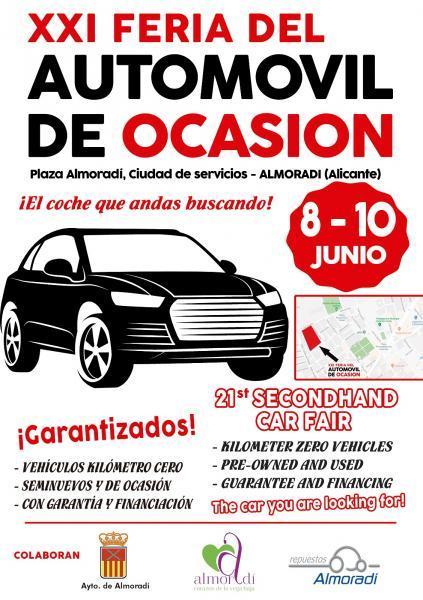Feria del Automóvil de Ocasión en Almoradí
