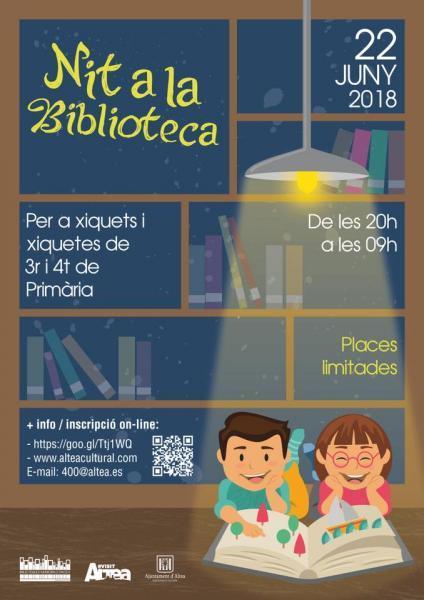 Nit a la Biblioteca - Altea 2018
