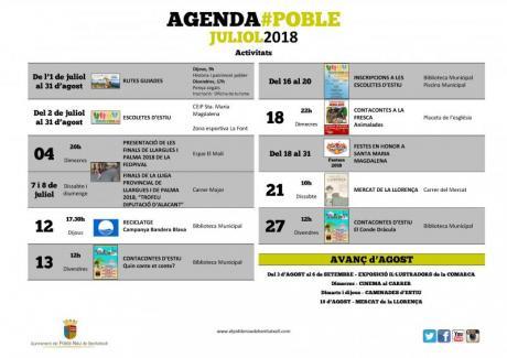 Agenda Julio 2018