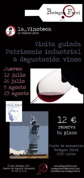 Visita guiada y degustación vinos en bodegas Ferri