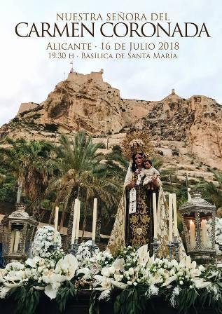 Festividad de Nuestra Señora del Carmen Alicante 2018