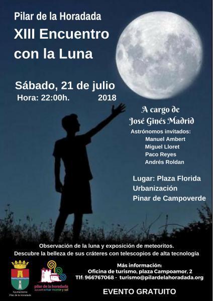 XIII Encuentro con la luna en Pinar de Campoverde en Pilar de la Horadada 2018