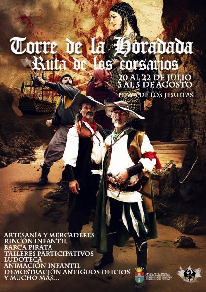 Ruta de los corsarios 'Mercado Pirata en Torre de la Horadada,´Pilar de la Horadada 2018