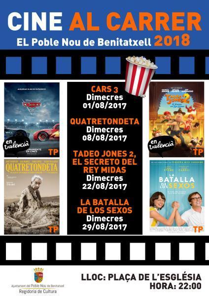 """Cine al carrer"" 2018"