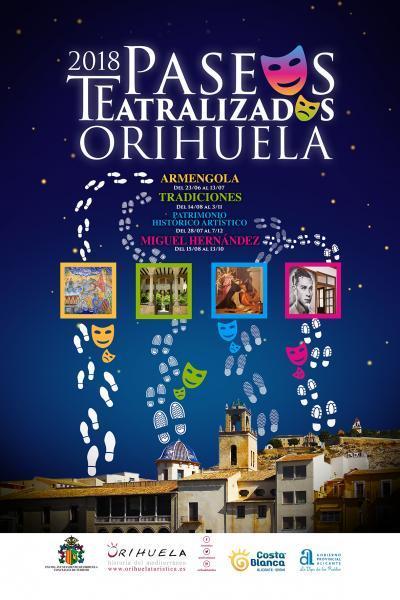 Paseos Teatralizados Orihuela 2018