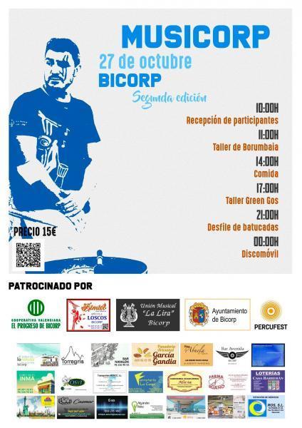 II edición Musicorp en Bicorp