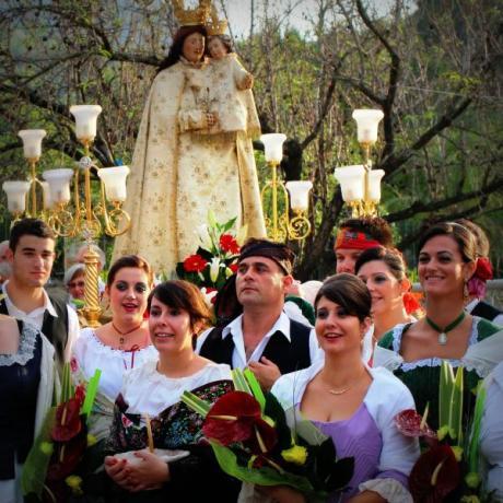 Fiestas Patronales de la Virgen Pobre en Xaló
