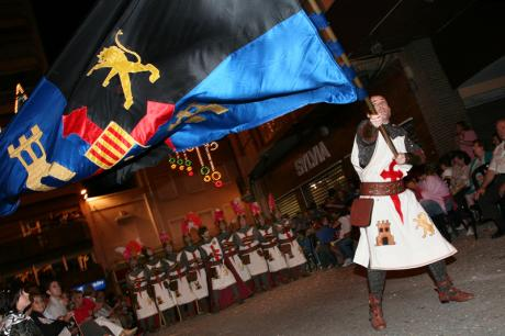 Crevillent gets ready for its celebration of Moros y Cristianos (Moors and Christians)