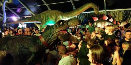 Die größte Dinosaurierausstellung in Europa ist bereits in Valencia