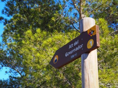 Rutas de senderismo por la Serra Gelada