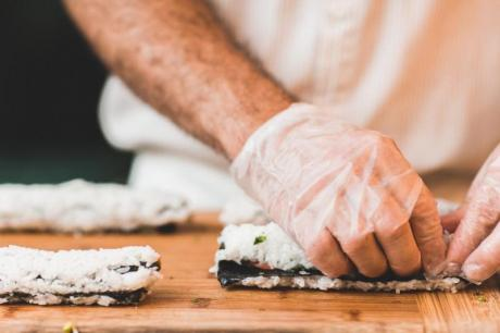 Showcooking, cocinar y entretener a los comensales en la I Mostra de Turisme de la Comunitat valenciana