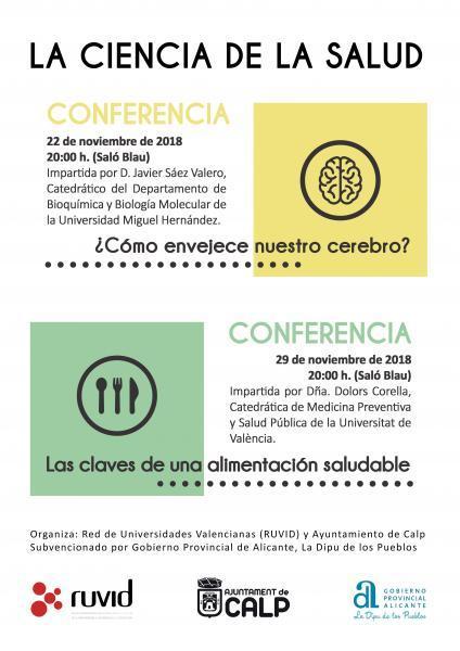 Conferencias Noviembre 2018