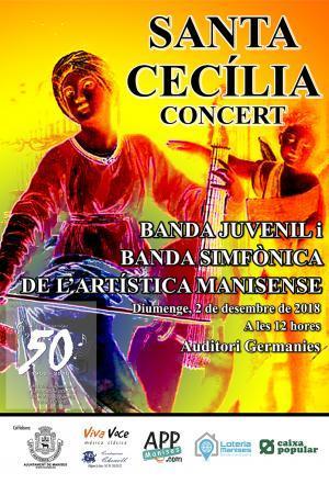 Concierto de Santa Cecilia Manises 2018