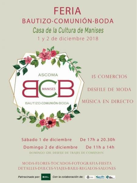 Feria Bautizo-Comunión-Boda Manises 2018