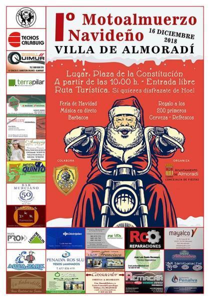 Iº Motoalmuerzo Navideño Villa de Almoradí