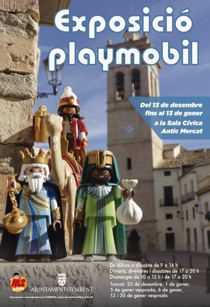 Exposición de figuras Playmobil en Torrent