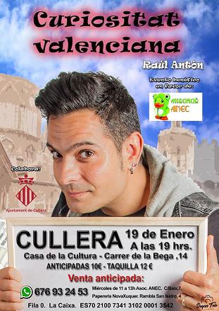 EVENTO BENÉFICO A FAVOR DE ANEC CULLERA