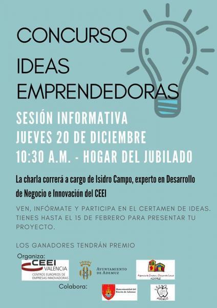 Concurso de ideas emprendedoras