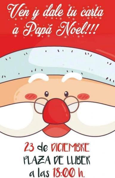 Visita Santa Claus en LLlber