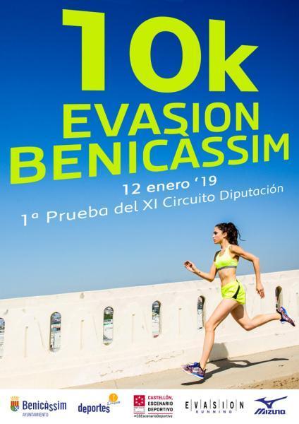 Prueba deportiva: 10 K Evasión Benicàssim